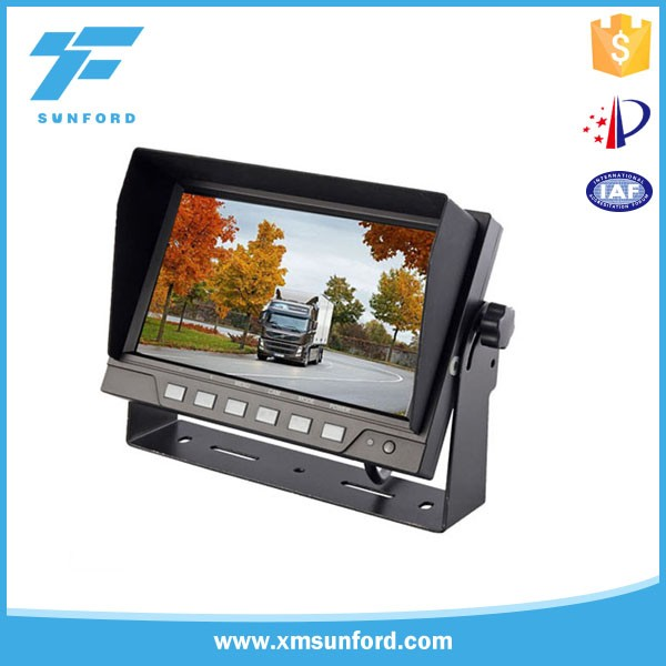 monitor with av input and output/car roof monitor/hdmi car monitor