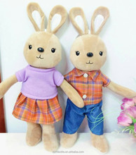 rabbit bunny fine classical top sell pattern rabbit toys