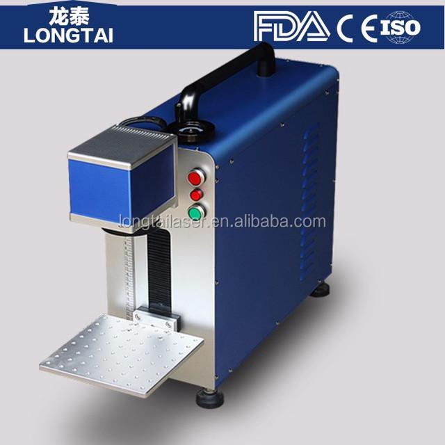 Portable Laser Printing Machine for Jewelery rings metal marking engraving