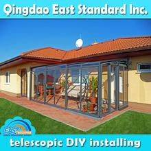 East Standard retractable outdoor screened rooms