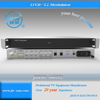 DVB-T2 MPEG-4 ASI based digital tv headend system