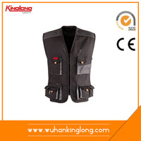 Wholesale alibaba high quality multi pocket work vest fishing vest