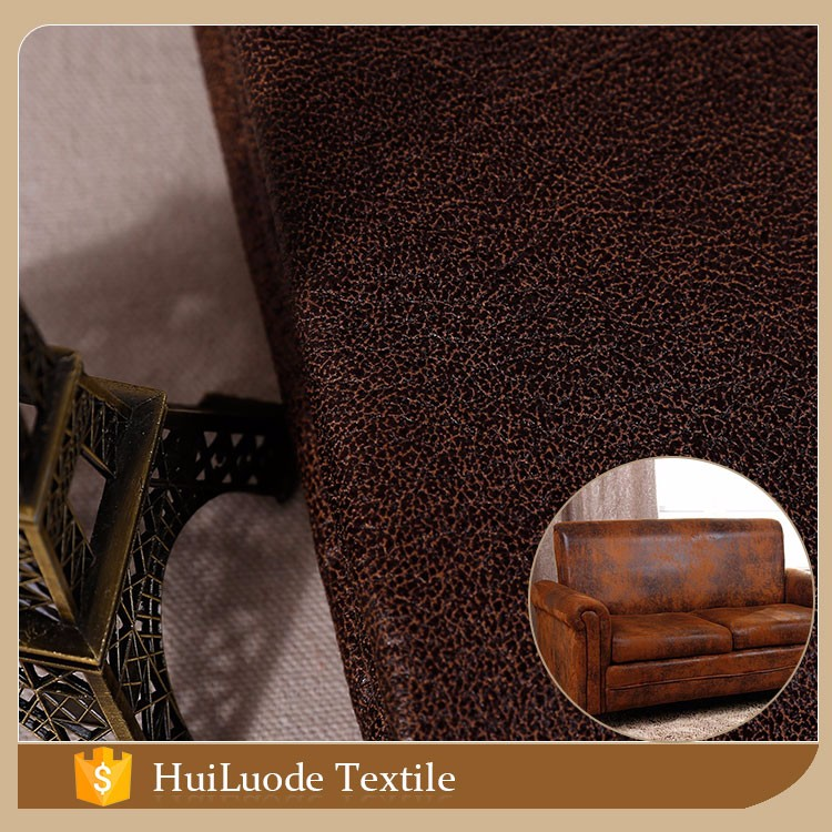 Wholesale new product 50D*75D 380gsm bronzed suede 100% polyester velvet sofa fabric with great price
