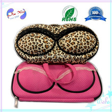 Customized Hot selling carrying pouch EVA Bra bag, Brassiere case