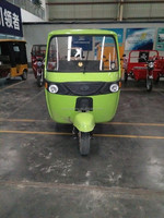 Brand new trend - Li battery electric passenger taxi three wheeler quad bike