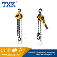 Lifting rigging specific model double wheel triple pulley block