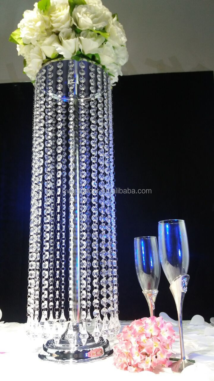 Wholesale crystal chandelier table centerpieces for event for Where can i buy wedding decorations