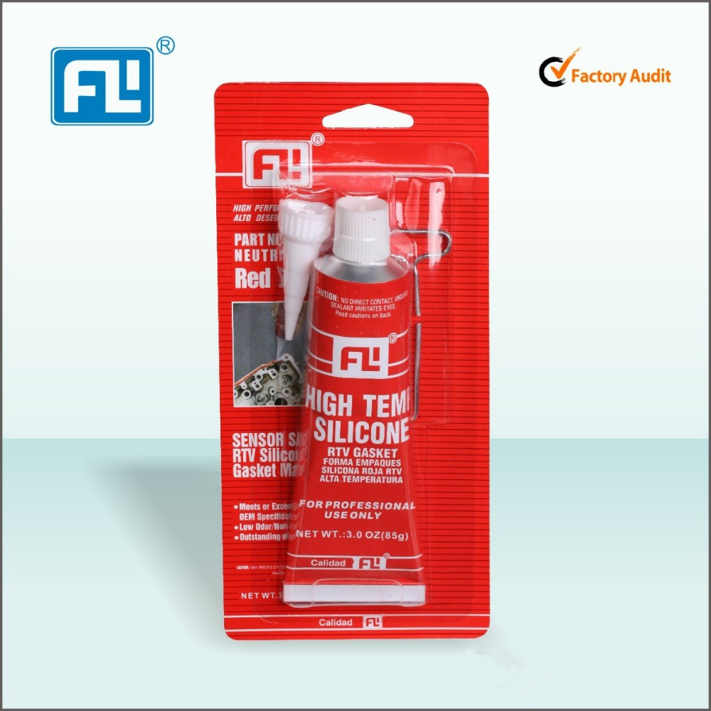 FL 70ml Red Color High Temperature RTV Silicon (Gasket Maker)