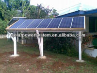 High quality off grid auto switch 3000w solar power plant 1mw