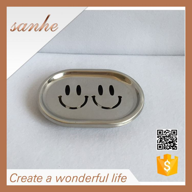 OEM Factory Metal Hotel Solid Soap bath soap dish
