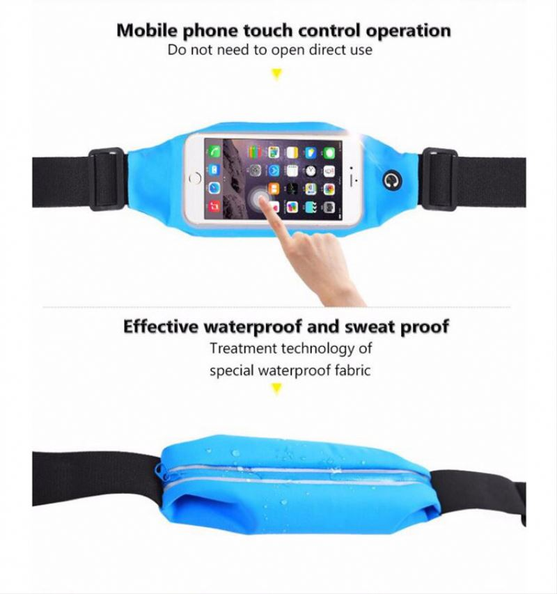 Hot sale ningbo 4.5 to 6 inch Universal PVC dual sim watch phone waterproof tote bag waterproof cell phone bag