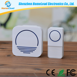 220V Zigbee Smart Door Bell Plugin Plastic Wireless Doorbell Kit Long Working Range For Villa,Apartment,Home,Office,Hotel