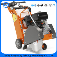 gasoline engine diesel engine concrete road cutting machine /road cutter price