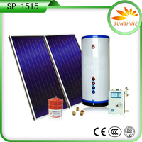 150L Top Sale Anoded oxidation Pressurized Solar Water Heater for household