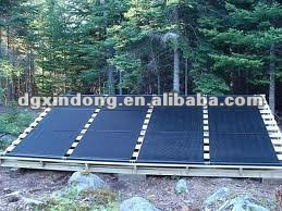 Solar Pool Heating System Homemade Solar Collector SHP004
