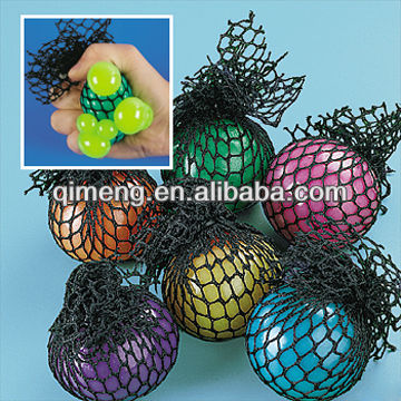 Novelty Squeezable Mesh ball