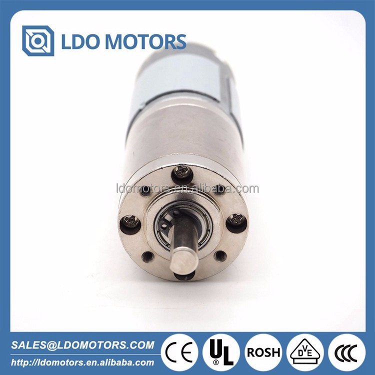 12V-24V planetary gear DC motor for Automatic doors & Peritoneal machine