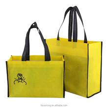 Factory Price Recycled Customs Logo Printed Cotton Non Woven Material Tote Shopping Bag