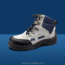 Waterproof safety shoes low heel steel toe basic product foot boots fashionable iron steel in work For electrician