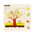 Kids Toy BH2502C Five Layers Puzzle Seasons New 3D wooden puzzle
