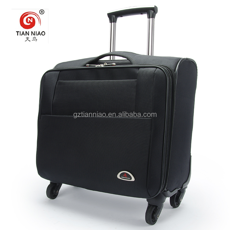 "Brand new wholesale 14"" business travel luggage computer trolley cabin bag supplier"