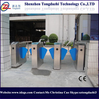 Stainless Steel Main gate design waterproofing automatic flap barrier gate