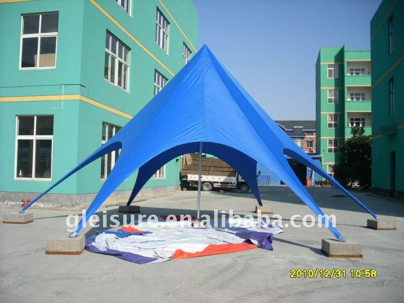 Outdoor promotional aluminum Star Tent / Star shelter shade/ Star canopy