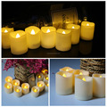 Romantic Battery powered led candle light with remote