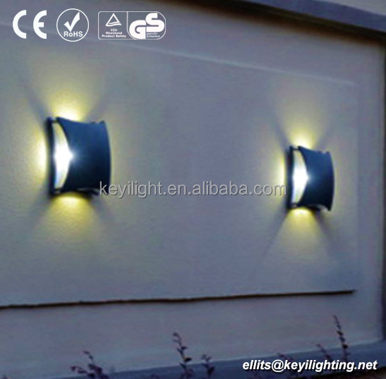 3w LDE New exterior die casting aluminum outdoor wall lighting