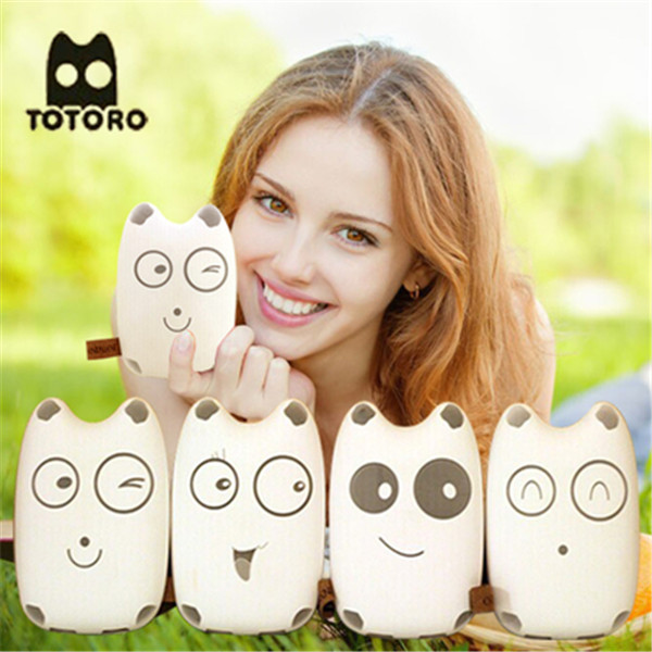 2016 restaurant Cute totoro design portable power bank 10000mah