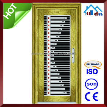 QD-SS095 Entrance Anti- theft Villa Main Stainless Door