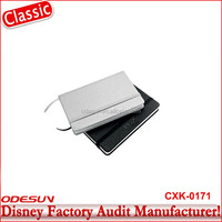 Disney Universal NBCU FAMA BSCI GSV Carrefour Factory Audit Manufacturer PU Cover For Notebook English For Office