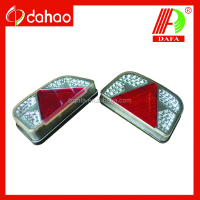 Euro/Waterproof LED trailer tail light with E-mark certification