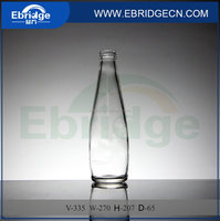 Beverage glass bottle wholesale , 330ml bottle glass and juice bottle hot sale