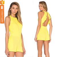 Exquisite Style Rompers Hot Selling Playsuits One Piece Pictures of Sexy Girls Wearing Ladies Jumpsuit