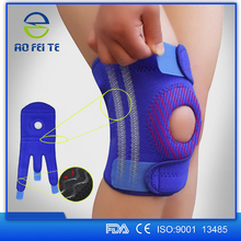 china online shopping shijiazhuang aofeite elastic neoprene waterproof knee support as seen on tv