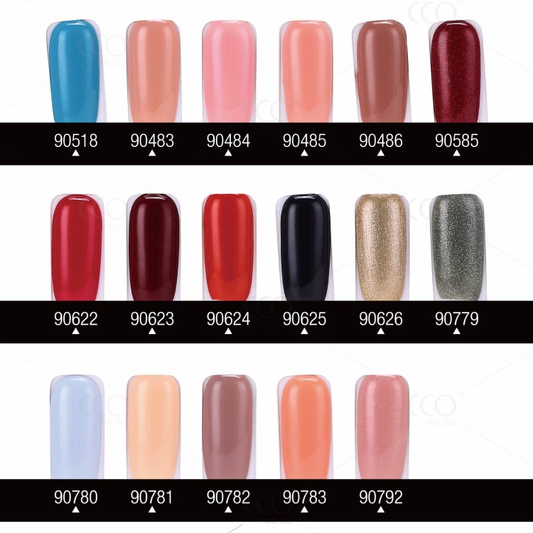 CCO IMPRESS Guangzhou Factory Directly Sale Professional supplier 183 colors uv gel free nail polish sample