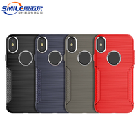 Promotional new design CE approved tpu phone case back cover for apple for iphone X