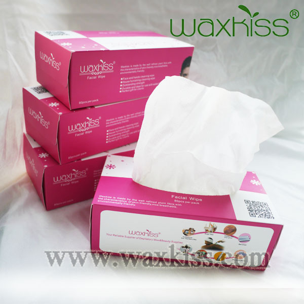 strong absorbency good quality spunlace facial wipe easy to draw out