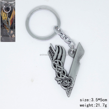 Vikings Marks Cosplay Action Movie Decoration Anime Keychain