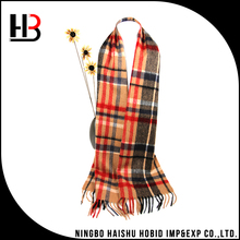 Mens winter long cashmere scarf for wholesale