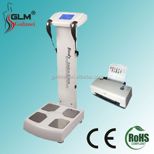 Most popular 2015 accurate inbody body composition analysis machine/body fat analyzer with printer