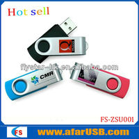 popular swivel usb flash drive, hot cheap usb 2.0 usb flash drive with your logo printing