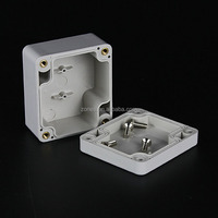 nema ip65 small plastic casing abs electrical outlet box size