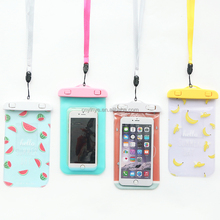Water proof cell phone case mobile phone PVC waterproof dry bag underwater smart phone pouch