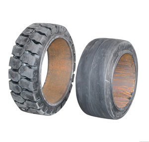 Press-on Solid Tires for Forklift 12X5X8,china pneus, tyres