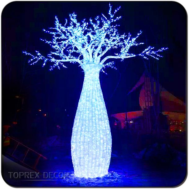 Large tree led outdoor christmas lights