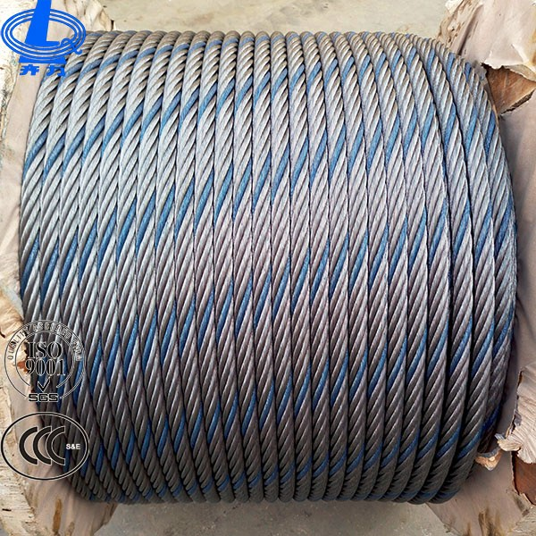 Hot Sale Used Steel Blue Strand Wire Rope