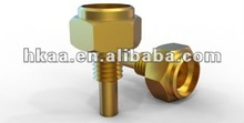 Special Custom OEM Brass Hollow Hexagon Head Connecting Bolt