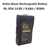 Rolux RL-95A 95Wh Anton Bauer Gold Mount lithium-ion battery 95Wh 14.8V